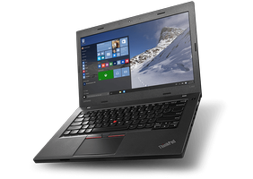 "LENOVO ThinkPad L460, i5-6200U, 8GB, 256GB SATA SSD, Intel HD Graphics, 14.0"" FHD, SmartCard,  W10 Pro + ThinkPad Pro Dock (20FU002DMS+DOCK)"