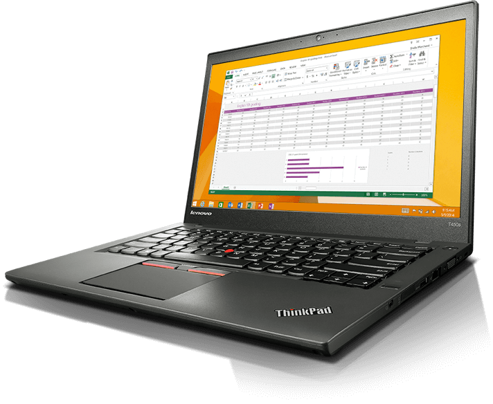 ThinkPad T450s Intel Core i5-5300U Swedish backlit keyboard