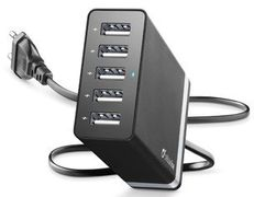 CELLULAR LINE Charger 8.2A 5 Usb Black