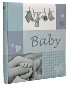 HENZO Jessy blue  Baby   28,5x30 60 Pages  Book bound (20.161.07)