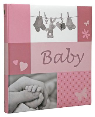 Jessy pink  Baby   28,5x30 60 Pages  Book bound