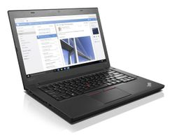 "T460, Intel Core i7-6600U, 1x8GB, 256 GB SSD, no ODD, Intel Integrated HD Graphics, 14.0"" FULL HD (1920x1080),  10/100, Intel 8260 ACBGN Vpro + BT4.1, Ready, FPR, 3cell 23.5Whr integrated + 3cell 23.5W"