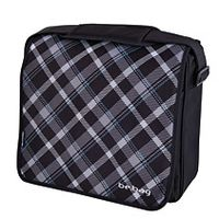 Messenger Bag be.bag Black Checked