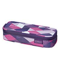 Soft Case be.bag cube Purple Checked