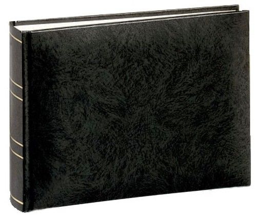 BASICLINE black 21x5x16 50 white Pages bookbound 1000208