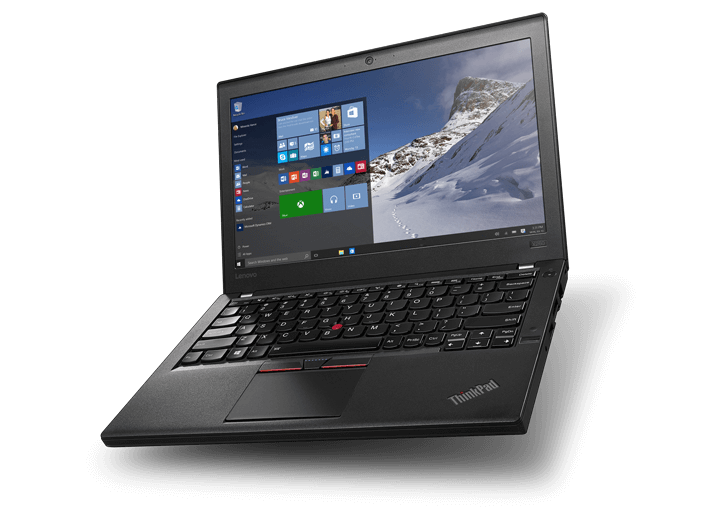 "ThinkPad X260, i7-6500U, 8GB, 512GB SATA SSD, Intel HD Graphics 520, 12.5"" FHD IPS, Smartcard,  W7P64 + W10P64 RDVD Flyer +ThinkPad Pro Dock - Portreplikator - 90 Watt"
