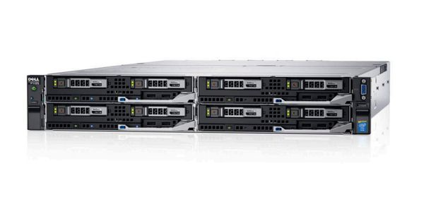 Dell PowerEdge FC630 E5-2630v3 Chassis 2 x 2_5_ 32GB 400GB Broadcom 5720 PERC H330 iDRAC8Ent 3YNBD