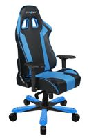 King KS06 Gaming Chair, Kunstleder - schwarz/ blau