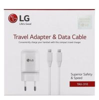 LG WALL CHARGER (TYPE-C 1,2M WHITE) (TAU-310.AGEUWH)