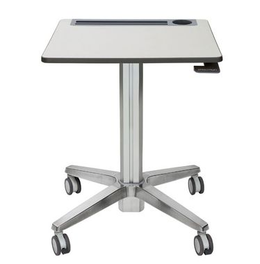 LEARNFIT TRAVEL STANDING DESK 16IN CLEAR ANODIZED ADJUSTABLE   IN ACCS