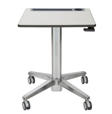 LEARNFIT 16IN TRAVEL ADJUSTBLE STANDING DESK CLEAR ANODIZED