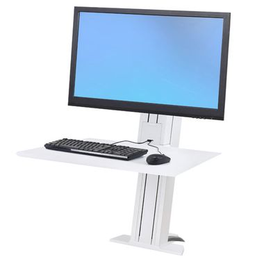 WORKFIT-S SINGLE MONITOR HD REAR MOUNTING BRIGHT WHITE ACCS