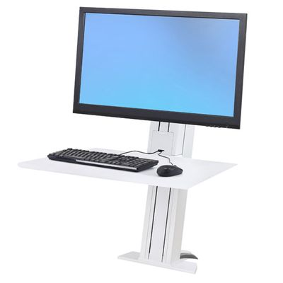 WORKFIT-S SINGLE MONITOR HD REAR MOUNTING BRIGHT WHITE
