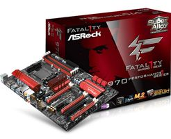 ASROCK 970 Performance,  Mainboard AM3+ AMD 970 (90-MXGX40-A0UAYZ)