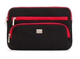 CarryCase Sleeve for Chromebook 11_6_ Black/Red
