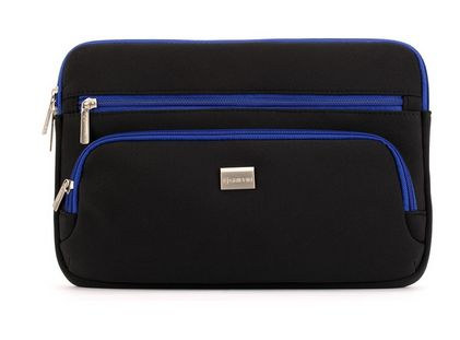CarryCase Sleeve for Chromebook 11_6_ Black/ Blue