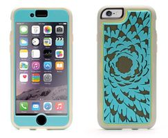 iPhone 6/6s Identity Flower Turquoise/ Grey