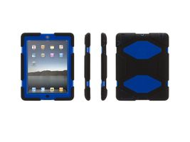iPad2/3/4 Survivor Black/ Blue/ Black