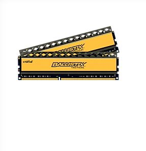Simm DDR3 PC1866 16GB CL9 Crucial OC k