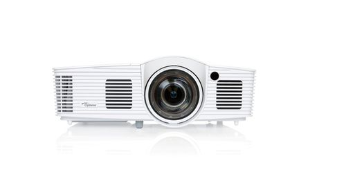 OPTOMA Projector Optoma GT1080e (DLP, Short Throw; 1080p, 3000; 25000:1 FULL 3D) (95.8ZF01GC2E)