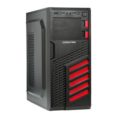 Geh MIDI KX Red ATX, M-ATX, Mini-ITX