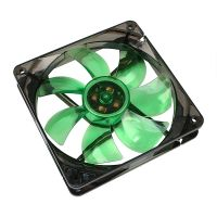 Lüfter Silent Fan 120*120*25 Green LED 1200RPM