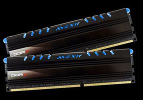 Core Series, blaue LED, DDR3-1600,  CL11 - 8 GB Kit