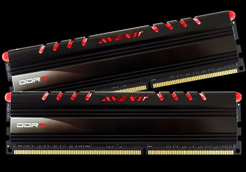 Core Series, rote LED, DDR3-1600,  CL11 - 8 GB Kit