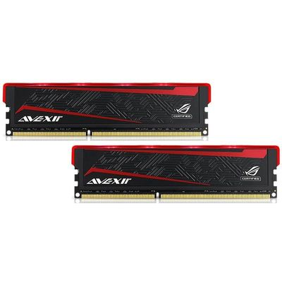 ROG Impact Series, rote LED, DDR4-2666,  CL15 - 16 GB Kit