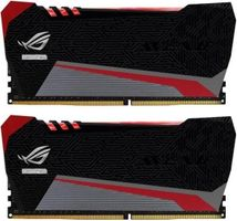 ROG RAIDEN Red Tesla, rote LED, DDR4-2666,  CL15 - 8 GB Ki