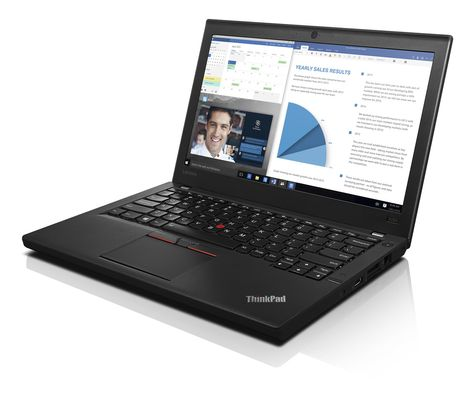 TP X260 i5-6200U 2.3GHz FHD (1920x1080)/  31.8 cm (12.5)/ 8 GB RAM/ Intel Core i5-6200U (3M Cache, up to 2.80 GHz)/ Win 10 Pro 32-Bit/ Intel HD Graphics 520/ DVD±RW DL/ Bluetooth 4.1/ Webcam: Ja