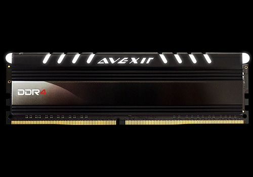 Core Series, weiße LED, DDR4-2400,  CL16 - 8 GB