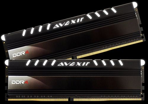 Core Series, weiße LED, DDR4-2400,  CL16 - 16 GB Kit
