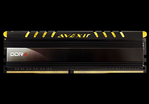 Core Series, gelbe LED, DDR4-2400,  CL16 - 8 GB