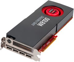 FIREPRO W8100 8GB GDDR5 PCIE 3.0 16X 4X DP RETAIL IN