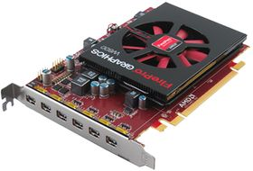 AMD FIREPRO W600 2GB GDDR5 PCIE 3.0 16X 6X M-DP RETAIL      IN CTLR (100-505968)