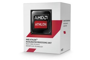 Athlon 5370, Socket-AM1 Processor,  2.2GHz, Quad Core, 2MB, 25W, 28nm, Radeon HD 8400, inkl. kylare