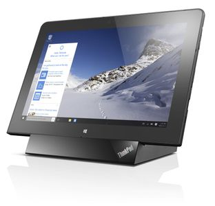 """LENOVO ThinkPad 10, Intel CherryTrail Atom x7-8750, 4GB, 128GB Flash, Integrated (CPU supported),  10.1"""" FULL HD 1920x1200 with Active pen support, ThinkPad 2x2 AC + Bluetooth,  4G LTE + NFC, FPR, Micro SD Car (20E30036MS)"""
