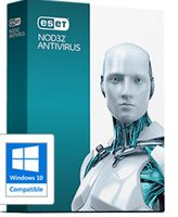NOD32 Antivirus  1 user 2 year