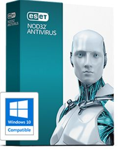NOD32 Antivirus  2 user 3 year