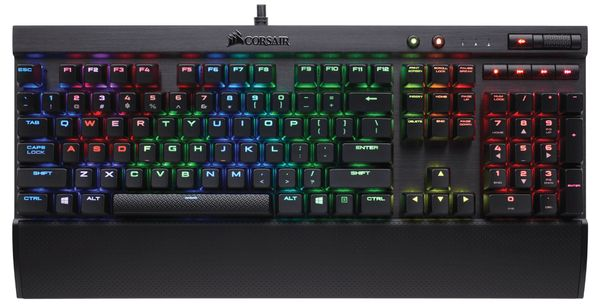 Gaming Keyboard K70 LUX RGB Cherry MX Brown