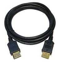 DISPLAYPORT CABLE (DP - DP) BLACK - 2M IN