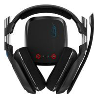 A50 Trådløst Gaming Headset PS4 USB, PlayStation 4, oppladbar,  EQ modus, MixAmp sender, 7.1 surround