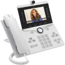 CISCO IP PHONE 8865 WHITE                            IN PERP (CP-8865-W-K9=)