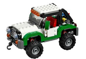 Creator 31037 Adventure Vehicles