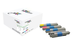 Toner Oki C310/330 Rainbow Kit comp.