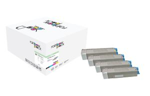 Toner Oki C5850/ 5950 Rainbow Kit comp.
