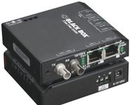 BLACK BOX DrX 10-100 Converter (2) 10/100 Mbps RJ-45 Factory Sealed (LBH100A-SC)