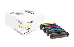 Toner HP CLJ PRO 300/400 Rainbow Kit comp.