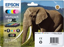Ink Cart/ Claria PhotoHD 24XL Elephant MP